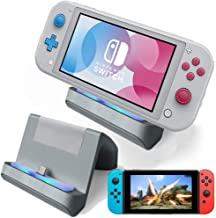 TNE - Switch Lite Charger Stand | Mini Charging Display Dock Station Holder Accessories with USB Type C Port for Nintendo ...