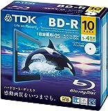 TDK BD‐R 1回録画用 BRV25PWB10A 10枚