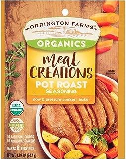 Orrington Farms Organic Meal Creations Seasoning, Pot Roast (6 Count)