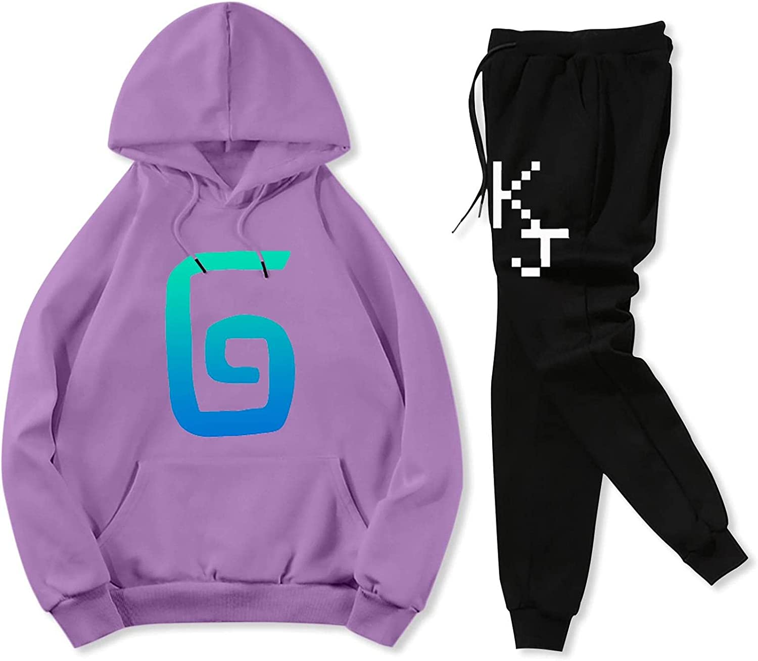 Youth Kar-l-Jaco-bs Fashion Pullover Sweatpants Suit and Sacramento Mall Max 81% OFF Hoodie