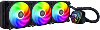 SilverStone Technology PF360-ARGB Permafrost 360mm All in One Multi-Chamber Addressable RGB CPU Liquid Cooler Supports Int...