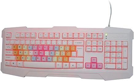 L&Y Tastiere da Gioco Tastiera Wired Tasti della Tastiera del Desktop Tastiera del Computer USB Colorata Tastiera caffè Tastiera Ufficio Tastiera del Computer Portatile 104Key - Trova i prezzi più bassi