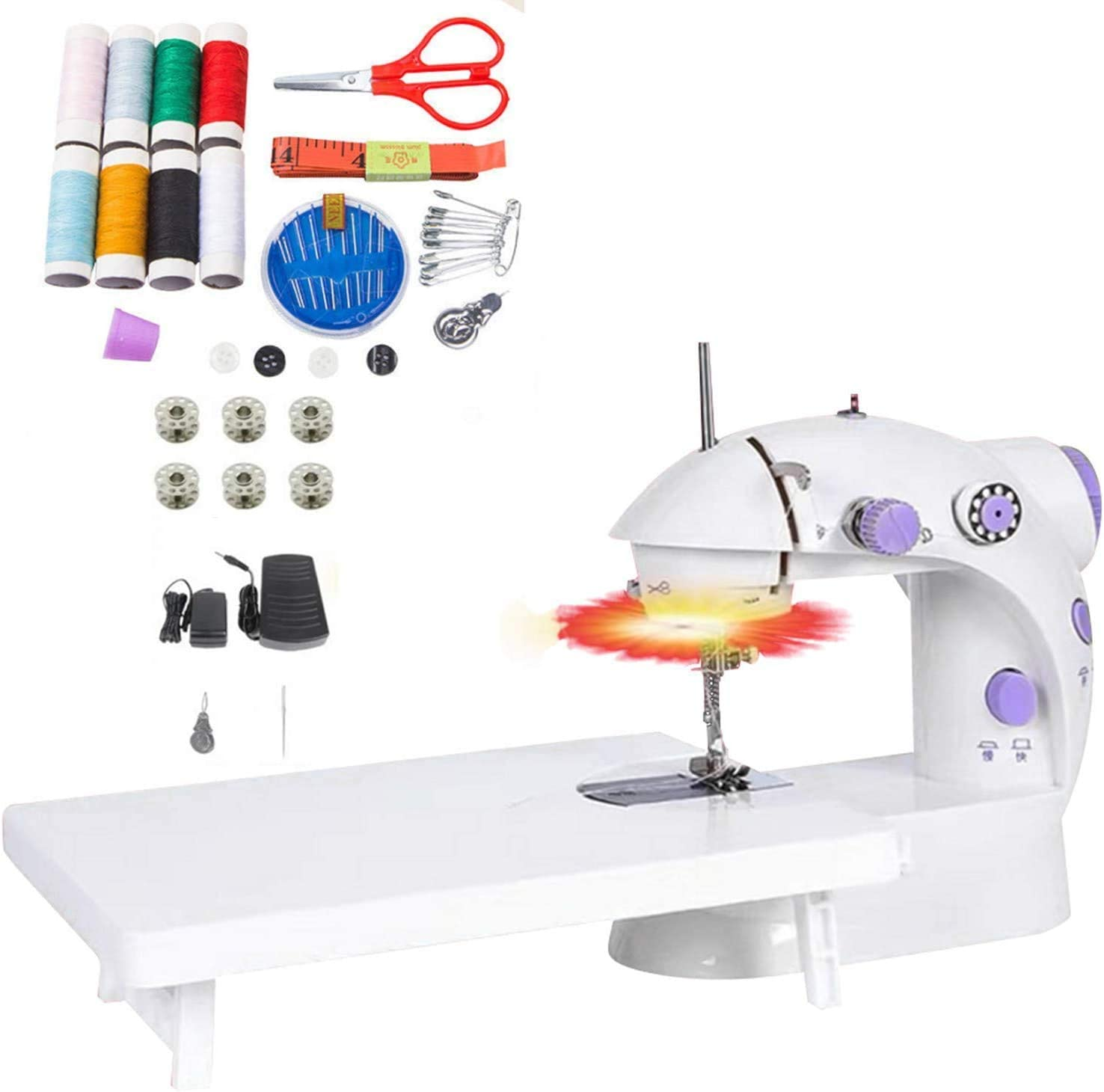 Mini Nippon regular agency Sewing Machine Small Size Mending Electric 25% OFF Crafting Machin