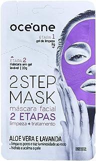 Máscara Facial 2 Etapas Dual-Step Mask Aloe Vera, Océane, Verde Claro