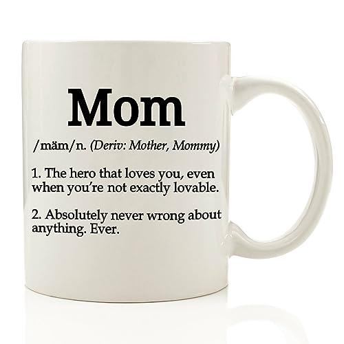Mom Definition Funny Coffee Mug 11 Oz
