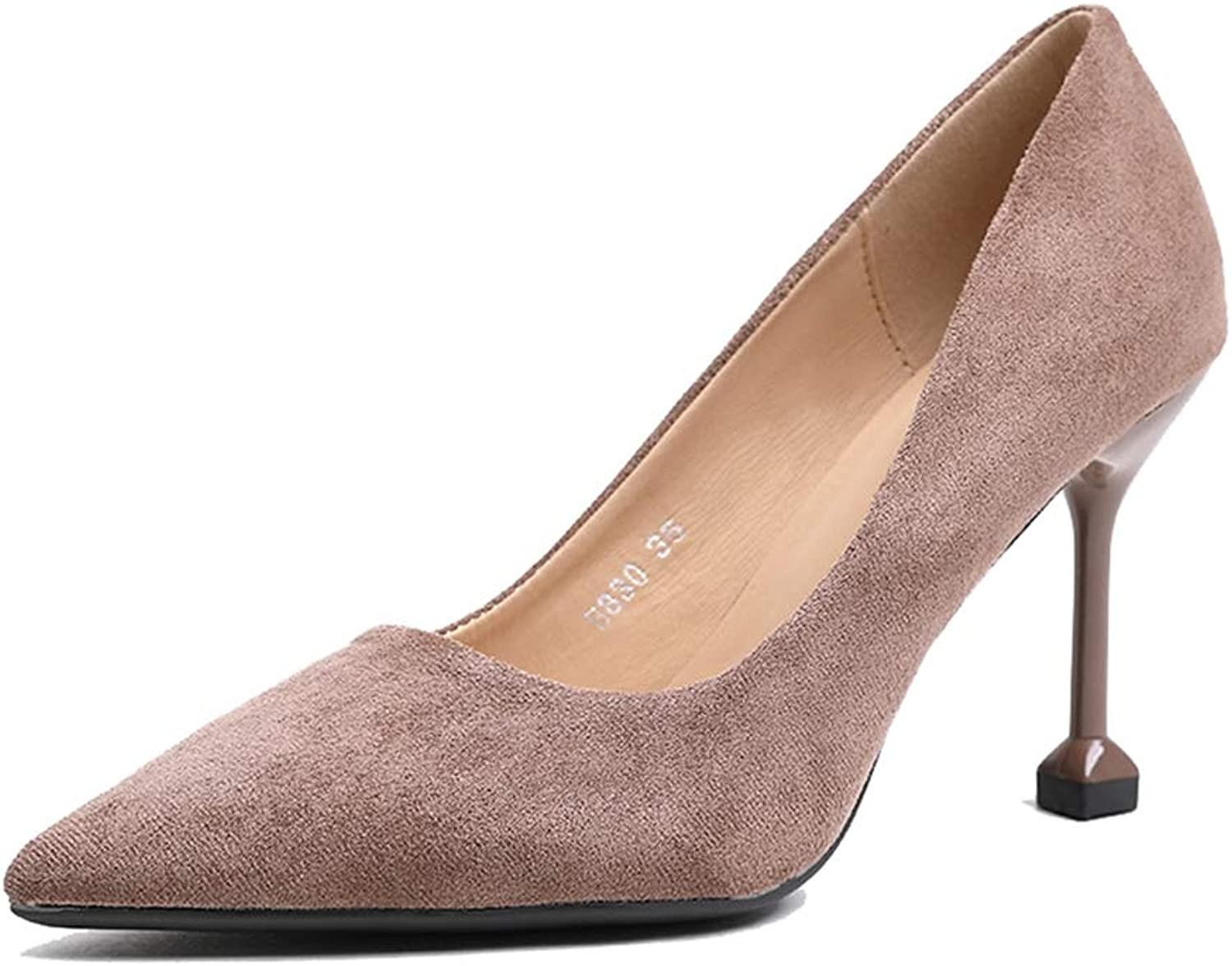 Sam Carle Women's Pumps,Simple Solid color Comfortable Non-Slip Sexy Office shoes