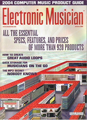 Electronic Musician Magazine, 2004 Computer Music Product Guide, January 2004 (Vol. 20, No. 2) Acid Music Studio Loops