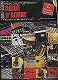 GUIDE D'ACHAT MUSIC LEADER INTERNATIONAL - 2005-2006 - Le guide des professionnels de la musique - Guitares classiques, acoustiques, electriques, basses, amplis, effets,...