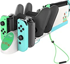 Ladestation für Nintendo Switch Controller, 6 in 1 Desktop-