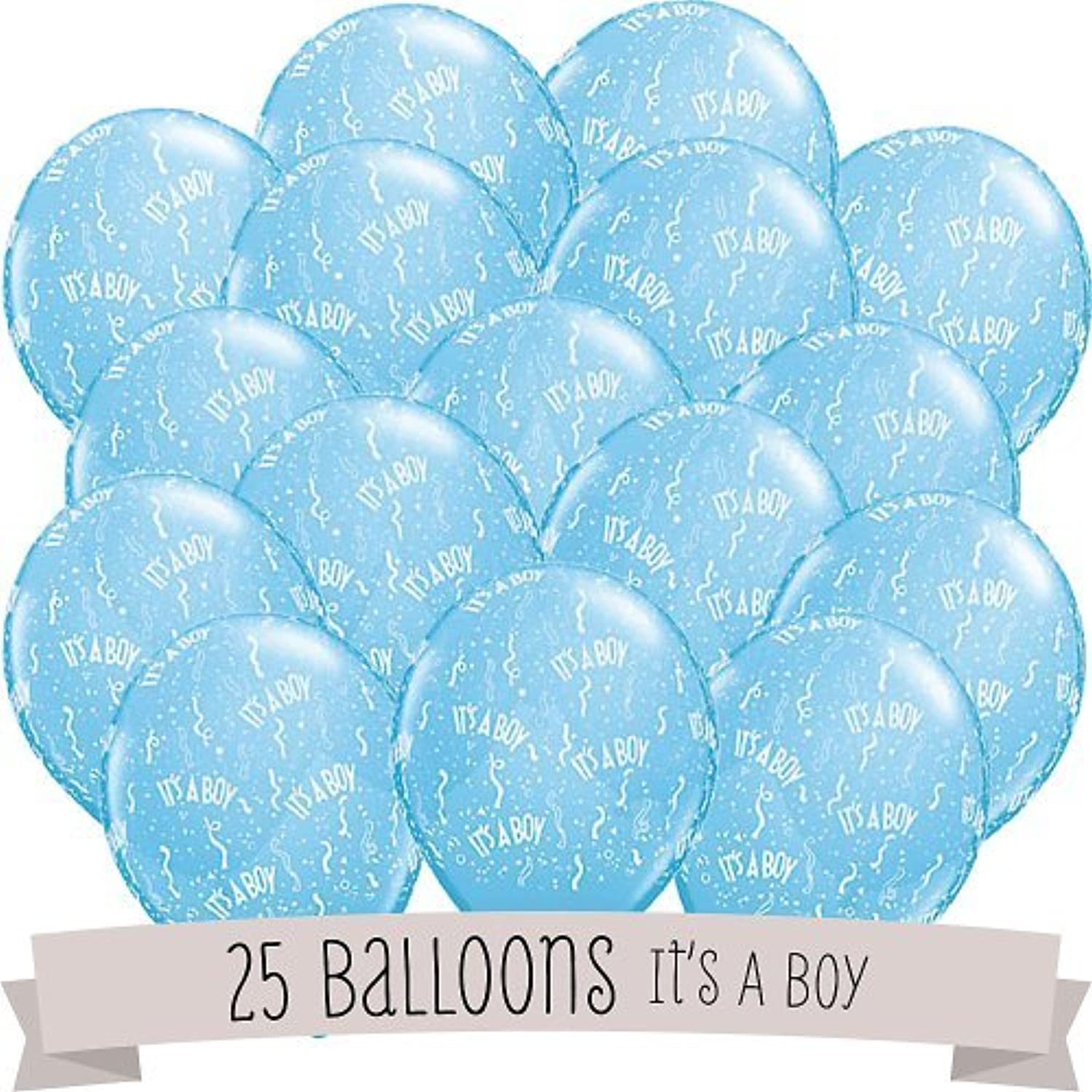It's A Boy   Baby Shower Balloons  25 ct by BigDotOfHappiness