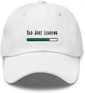 Sponsored Ad - Dad Joke Loading Funny Novelty Classic Cap Unisex Adjustable Buckle Hat