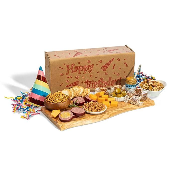 Dan the Sausageman's Happy Birthday Box Featuring Dan's Original Summer Sausage