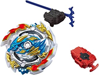 Burst GT Starter B-133 ACE Dragon.st.Ch, Real Beyblad with B-108 Bey String Launcher Red High Performance Battling Top