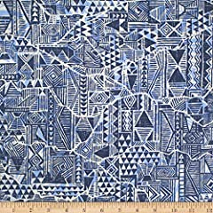 From Trans-Pacific Textiles this printed cotton fabric is from the Crack in Tapa collection. This lightweight fabric is easy to sew with has a soft hand and is very versatile! It is ideal for quilting but can also be used for crafts miscellaneous sew...