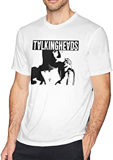 Elio Talking Heads O-Neck Cool Dry Short Sleeve Cotton Tee Shirts for Men