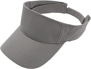 Top Level Sun Sports Visor Men Women - 100% Cotton Cap Hat