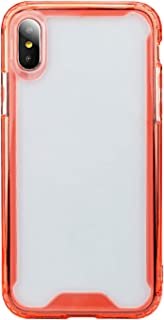 ZXK CO iPhone X Clear Case,Soft TPU Edge Bumper and Acrylic Backplate Four Corner Air Cushion Anti Drop Shockproof Full Pr...