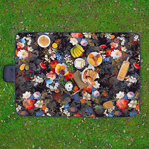 Scrolor Picknick Matte Decke Kissen wasserdicht Outdoor Camping Teppich Falten Sommer Travel Beach Mat