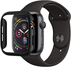Spigen Apple Watch 44mm Custodia, Thin Fit Progettato per Apple Watch 44mm Series 5 / Series 4 Case Cover - Nero