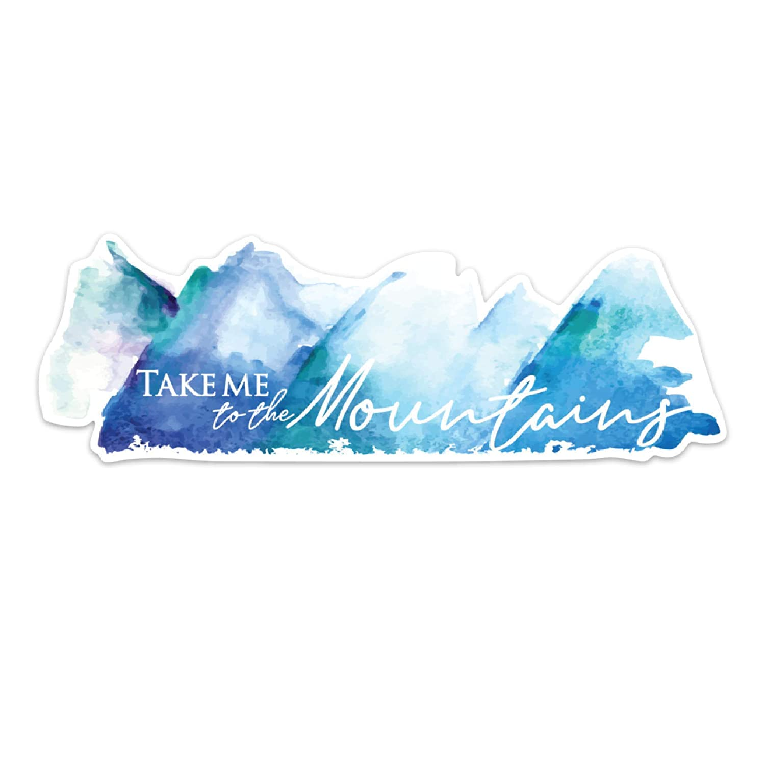 Take Me to Tampa Mall the store Dec Decal Sticker Mountains