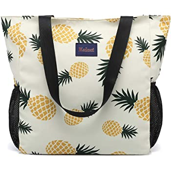Kalesi Floral Tote Bag Daily Shoulder Handbag Duffel Bag for Beach Travel Sports