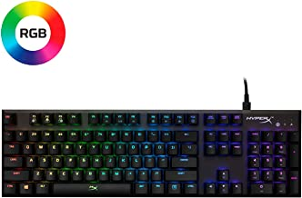 HyperX Alloy FPS RGB - Mechanical Gaming Keyboard - Compact Form Factor - Software-Controlled Light & Macro Customization ...