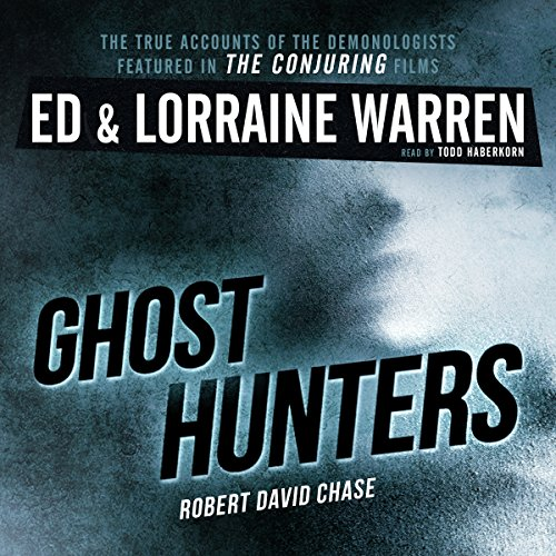 Ghost Hunters audiobook cover art