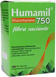 Aquilea Humamil - Glucomanano 750 Mg, 90 Capsulas