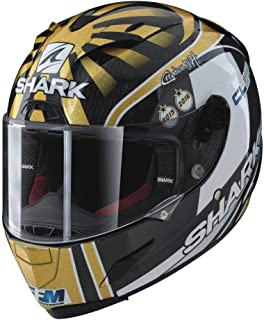 Shark Helmets RACE-R PRO Replica Zarco - CARBON/GOLD/WHITE - S