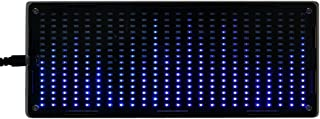 384Pcs LED Lights Digital Audio Music Spectrum Analyzer Display with Shell DIY Tools