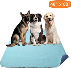 KOOLTAIL Washable Pee Pads for Dogs - Waterproof Dog Mat Non-Slip Puppy Pad for Whelping Potty Training