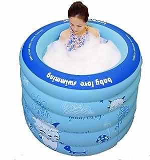 ATAとU- シンプルなインフレータブルバスタブ大人家庭用風呂バレルインフレータブル風呂バレル子供折りたたみスイミングプール