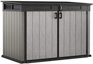 Upromax LLC Grande-Store 6.25 ft. W x 3.58 ft. D x 4.34 ft. H Resin Horizontal Shed