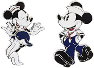 Disney Parks Cruise Line Mickey and Minnie Mouse Sailor Pins