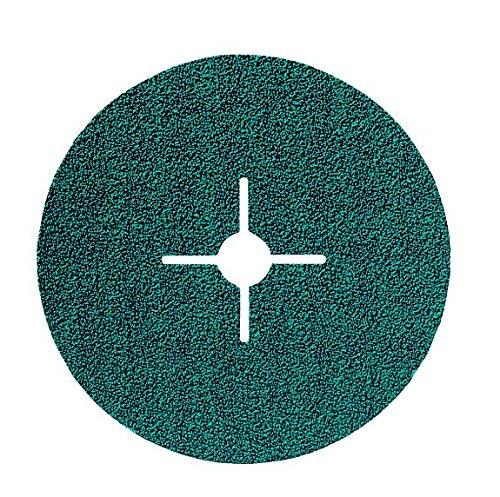 Sonnenflex Silverstar, Disco abrasivo in fibra vulcanica con rivestimento in ossido di zirconio, 137 x 22,23 mm, ZSE 24