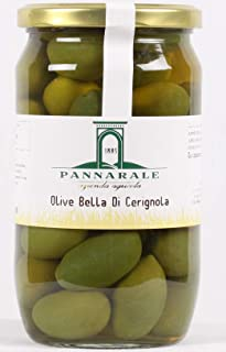 Olive Bella di Cerignola -Vaso gr.350-