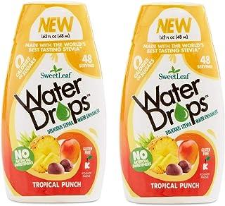 Sweetleaf Water Drops 1.62 fl.oz Tropical (2 Pack)