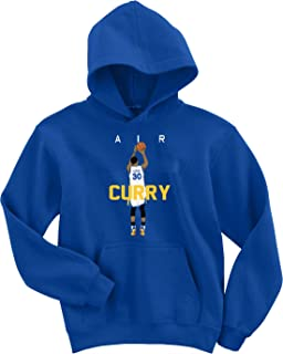 The Tune Guys Blue Golden State Curry Air Pic Hooded Sweatshirt