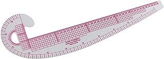 裁縫ルーラー カンマ型 フレンチカーブ プラスチック テーラー 描画 クラフトツール