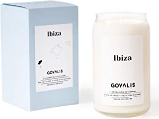 Vela Aromática Ibiza   Cera de Soja 100% Natural   100 horas, Vela Perfumada Grande en Vaso, Vegana, Viajes Recuerdos Ibiz...