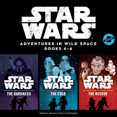 Star Wars: Adventures in Wild Space Series, Books 4-6 audiobook cover art