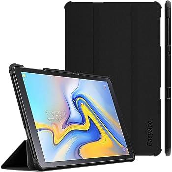 Ultra Sottile Leggero Supporto Protettiva Tablet in Silicone PU Case con Auto Sonno//Sveglia la Funzione-Nero AROYI Custodia Cover per Samsung Galaxy Tab A 10.1 2019+HD Protezione dello Schermo