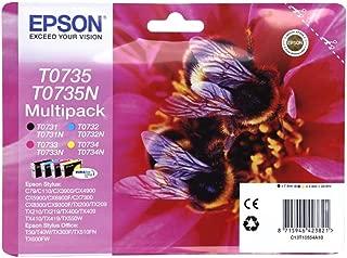 Epson Ink Cartridge, Multi-pack [t0735]