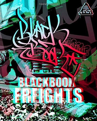 Blackbook Freights Graffiti Coloring Art Book product image