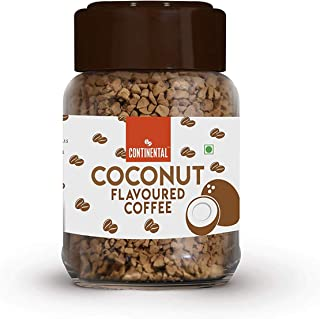 Continental Coconut Flavoured Instant Coffee 50g Jar