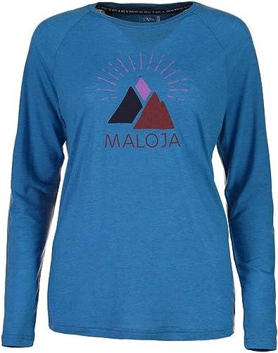 Maloja manche longue Multisport Jersey Chemise pour Femme