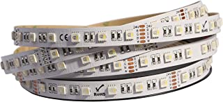 LED Strip Lights, Dreamcolor DC24V 5050 16.4ft 300leds RGB White 4 Colors in 1 LED non Waterproof Color Changing RGBW LED Flexible Lights