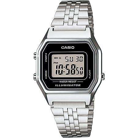 [カシオ] 腕時計 スタンダード LA680WA-1JF レディース シルバー