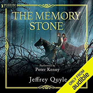 The Memory Stone audiobook cover art