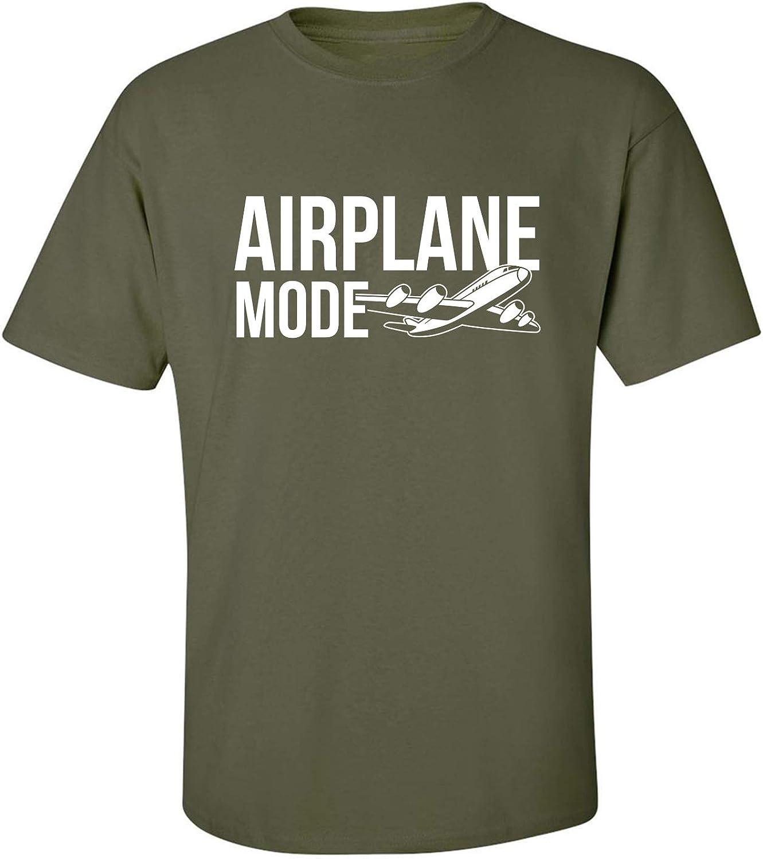 zerogravitee Airplane Mode Adult Short Sleeve T-Shirt